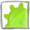 Sphinn YellowGreen icon
