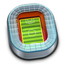 sport, Football, soccer, my computer, Building, stadium, Architecture, Computer Black icon