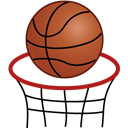 Basketball, sport Black icon
