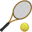 sport, tennis Black icon