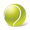 sport, Ball, tennis YellowGreen icon