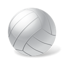 Ball, sport, volleyball Black icon