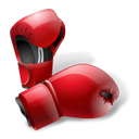 boxing, gloves, Box, sport Black icon