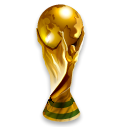 Football, sport, soccer, Worldcup, trophy Black icon