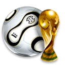 soccer, Worldcup, trophy, Football, sport, Ball Black icon