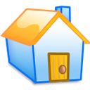 homepage, house, Home, yellow, Building Black icon