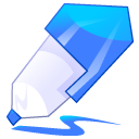 Pen, Edit, writing, write, Draw, paint, pencil, Blue Black icon