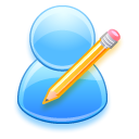 write, people, Edit, Human, profile, Account, user, writing DodgerBlue icon