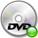 mount, Dvd, disc Silver icon
