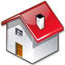 Folder, Home, homepage, house, Building Black icon