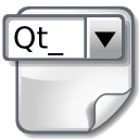 paper, File, document, widget, Doc WhiteSmoke icon