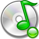 mount, Cdaudio Silver icon