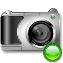 Camera, mount, photography Black icon