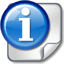 about, Information, Info RoyalBlue icon