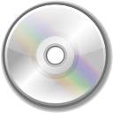 Disk, disc, Cd, Dvd, unmount, save, Cdrom Silver icon