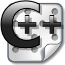 Source, Cpp Black icon