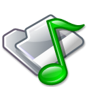 voice, sound, Folder Black icon