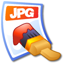 jpg, Jpeg Black icon