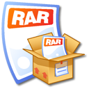 Rar Black icon
