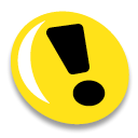 Attention Gold icon