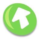 Ascending, Ascend, rise, upload, bt up, increase, Up YellowGreen icon