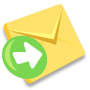 Message, mail, envelop, Letter, send, Email Khaki icon
