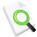 File, document, Browse, paper, Explore WhiteSmoke icon