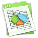 Filetype, Xl Honeydew icon