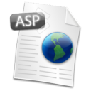 Filetype, Asp WhiteSmoke icon