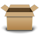 Box Black icon