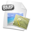 Filetype, Bmp Black icon