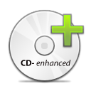 Cd, disc, save, Disk, enhanced, Duplicate, Copy WhiteSmoke icon