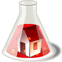 homepage, house, Building, Home Silver icon