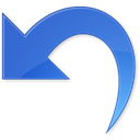 return, Reset, Undo RoyalBlue icon