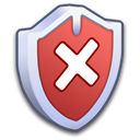 off, Firewall, security Black icon