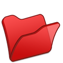 red, Folder Crimson icon