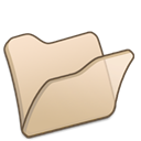Beige, Folder Wheat icon