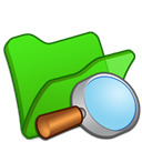 Explorer, Folder, green LimeGreen icon