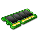 memory, mem, ram Black icon