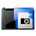 Scanner, Camera, And, photography Black icon