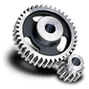 spur, Gear Black icon