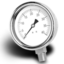 Gauge Black icon