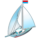 Yacht Black icon