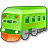 train YellowGreen icon