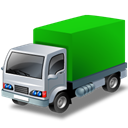 supply, lorrygreen, vehicle, supplier, Automobile, transport, transportation, truck Black icon