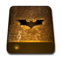 Orange, drive, bat, texture SaddleBrown icon