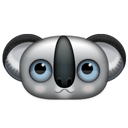 koala, Animal Black icon