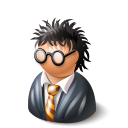harry potter, potter Black icon