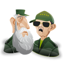 fidel, leader, raul, people, member, profile, castro, Human, Man, user, male, person, Account, Cartoon Black icon