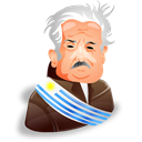 Account, Human, Jose, Man, mujica, user, person, male, Cartoon, profile, member, leader, people Black icon